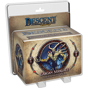 Descent Journeys in the Dark Second Edition Gargan Mirklace Lieutenant Pack