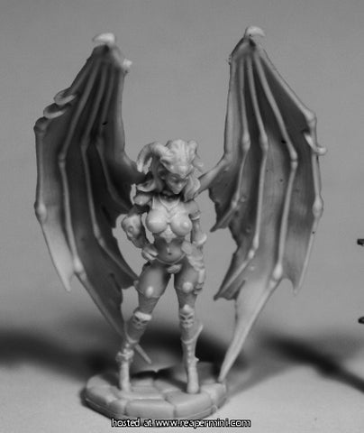Dark Heaven: Bones Eilluvasheth, Succubus Queen