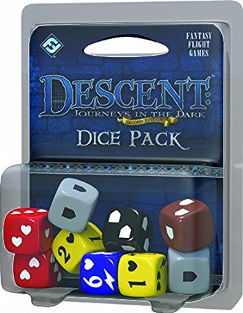 Descent Journeys In The Dark Second Edition Dice Pack
