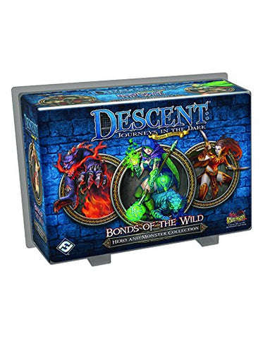 Descent Journeys in the Dark 2nd Edition: Bonds of the Wild Hero and Monster Collection