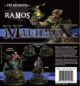 Malifaux Arcanist Miners and Steamfitters Union Box Set Ramos