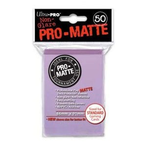 Ultra Pro Matte Deck Protector Sleeves 50 Count Lilac