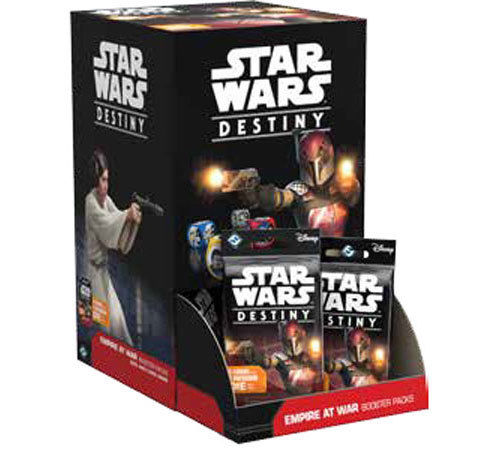 Star Wars Destiny Empire at War Booster Box (36 Booster Packs)