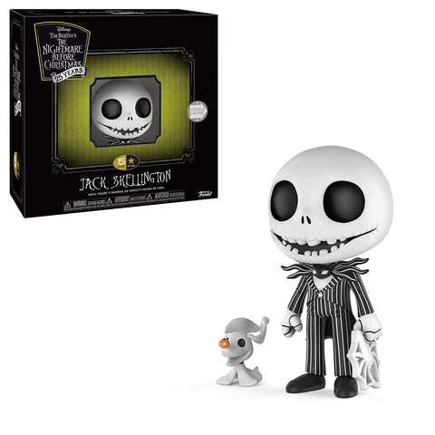 5 Star Figure Disney Jack Skellington Nightmare Before Christmas