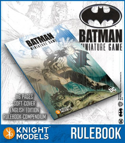 Batman Miniature Game: Rulebook (2nd Edition)