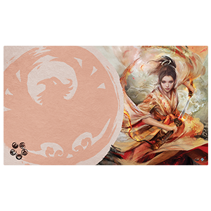 Legend of the Five Rings The Soul of Shiba Playmat Phoenix Clan