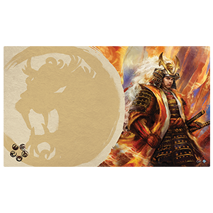 Legend of the Five Rings Right Hand of the Emperor Playmat Lion Clan