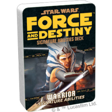 Star Wars RPG: Force and Destiny - Warrior Signature Abilities Specialization Deck