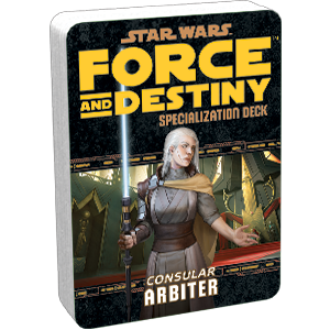 Star Wars Force and Destiny Consular Arbiter Specialization Deck