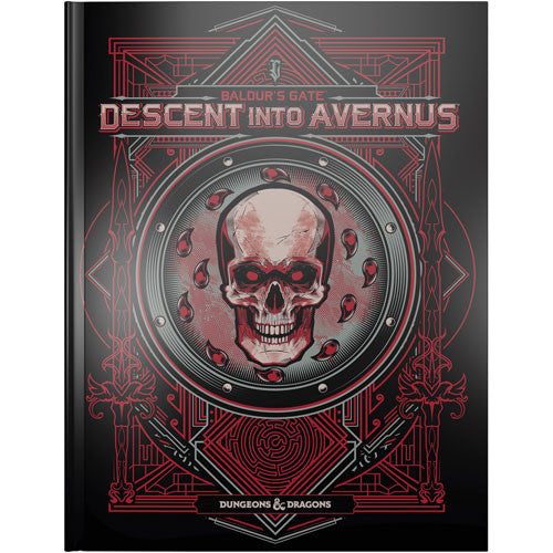 Dungeons and Dragons RPG: Baldur`s Gate - Descent into Avernus Alternate Cover