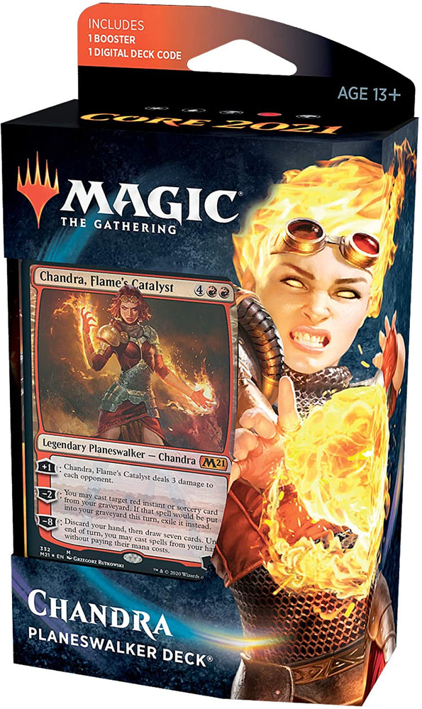 Magic the Gathering CCG: Core 2021 Planeswalker Deck Chandra