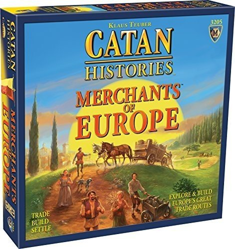 Catan: Catan Histories - Merchants of Europe (stand alone)