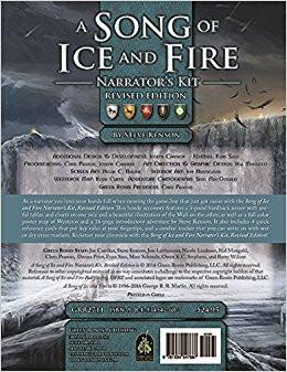A Song of Ice and Fire Narrator's Kit Revised Edition