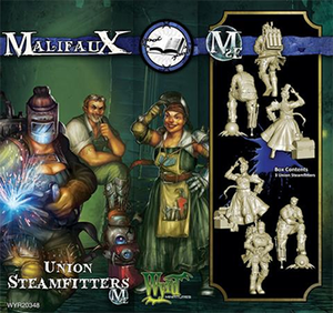 Malifaux Union Steamfitters