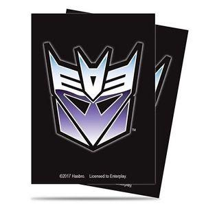 Ultra Pro Transformers Deck Protector Sleeves - Decepticon
