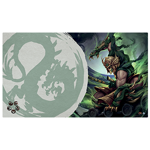 Legend of the Five Rings Master of the High House of Light Playmat Dragon Clan