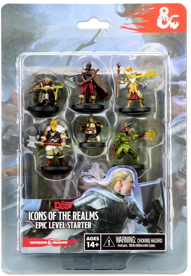 Dungeons & Dragons Icons of the Realms Epic Level Starter