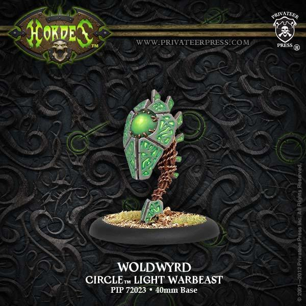 Hordes Circle Orboros Woldwyrd Light Warbeast