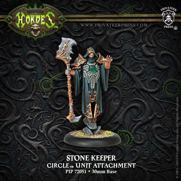 Hordes Circle Orboros Stone Keeper Unit Attachment