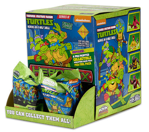 Heroclix Teenage Mutant Ninja Turtles Foil Packs each with 1 Collectible Miniature