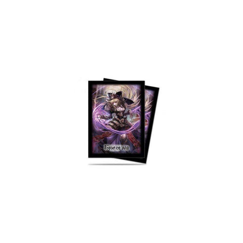 Force of Will: A2 Dark Faria Deck Protector Sleeves