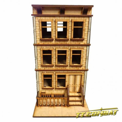 28mm Terrain: City Scenics - Brownstone Building B