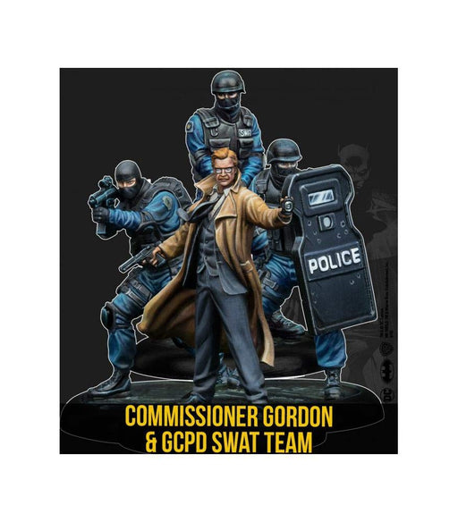 Batman Miniature Game: Commissioner Gordon & GCPD SWAT Team (2nd Edition) (Resin)