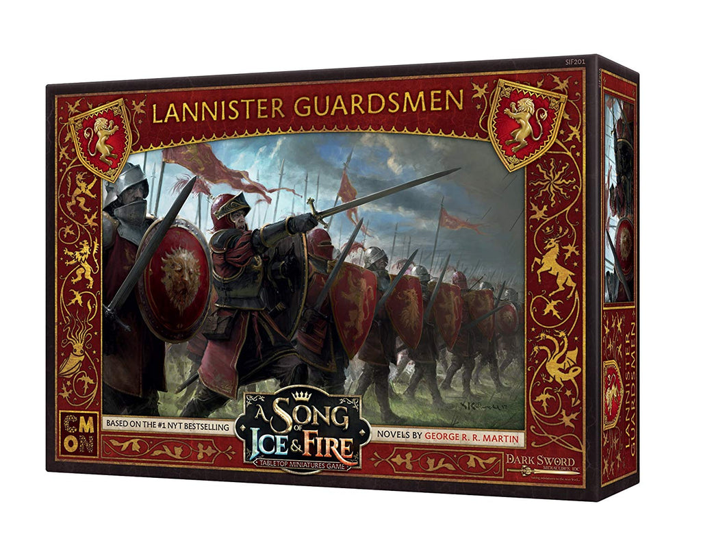 A Song of Ice & Fire: Tabletop Miniatures Game: Lannister Guardsmen Unit Box
