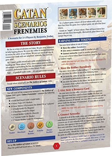 Catan: Scenario - Frenemies of Settlers of Catan