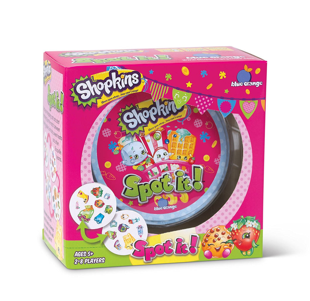 Spot It! Shopkins
