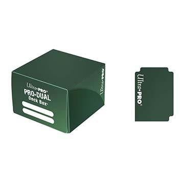 UltraPro Pro-Dual Deck Box (Holds 180 Cards) Dark Green