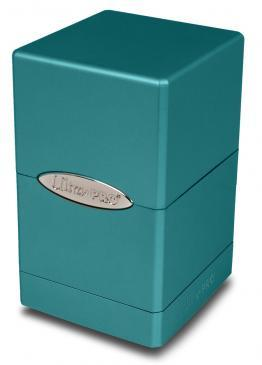 Ultra Pro Metallic Ocean Shimmer Satin Tower Deck Box