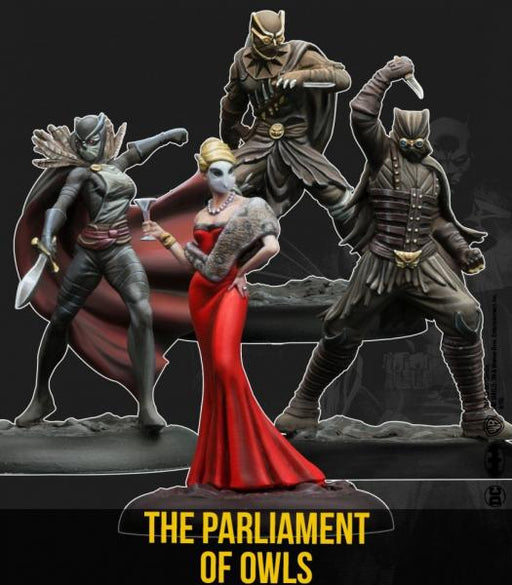 Batman Miniature Game: The Parliament of Owls Set (Resin)