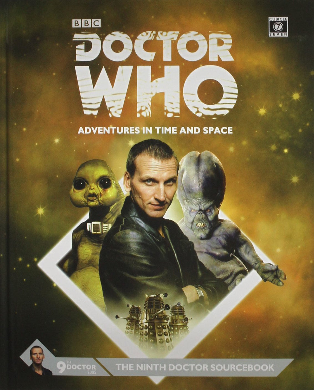 Doctor Who RPG: The Ninth Doctor Sourcebook Hardcover