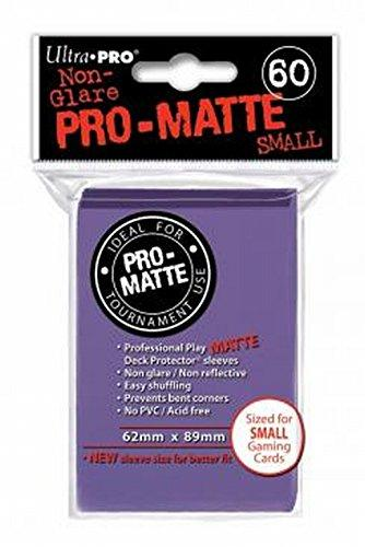 Ultra Pro Matte Deck Protector Sleeves 50 Count Purple