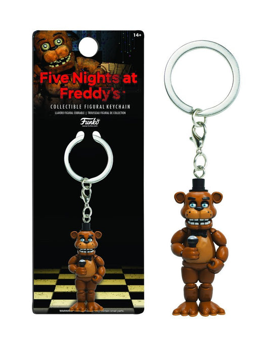 Five Nights at Freddy's Freddy Key Chain