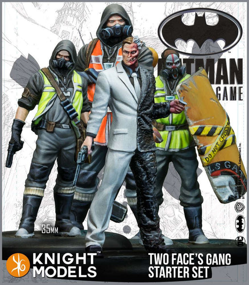 Knight Models Batman Miniature Game Two-Face Starter Set (Resin)