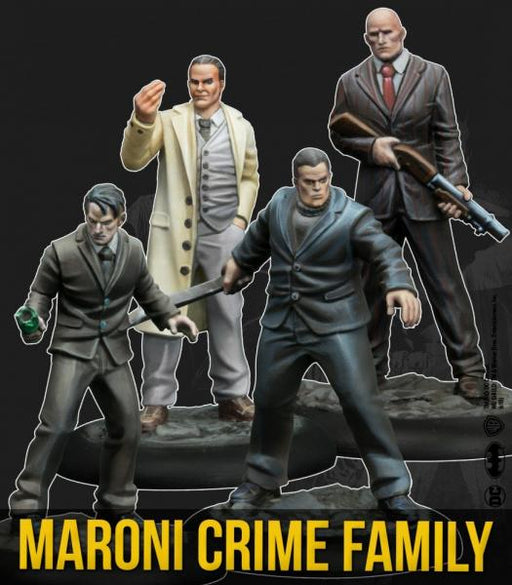 Batman Miniature Game: Maroni Crime Family (Resin)