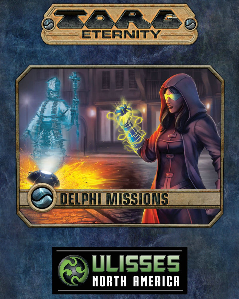 Torg Eternity RPG: Delphi Missions - Rising Storm Hardcover