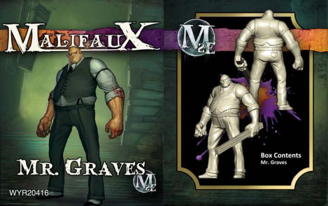 Malifaux: Mr. Graves