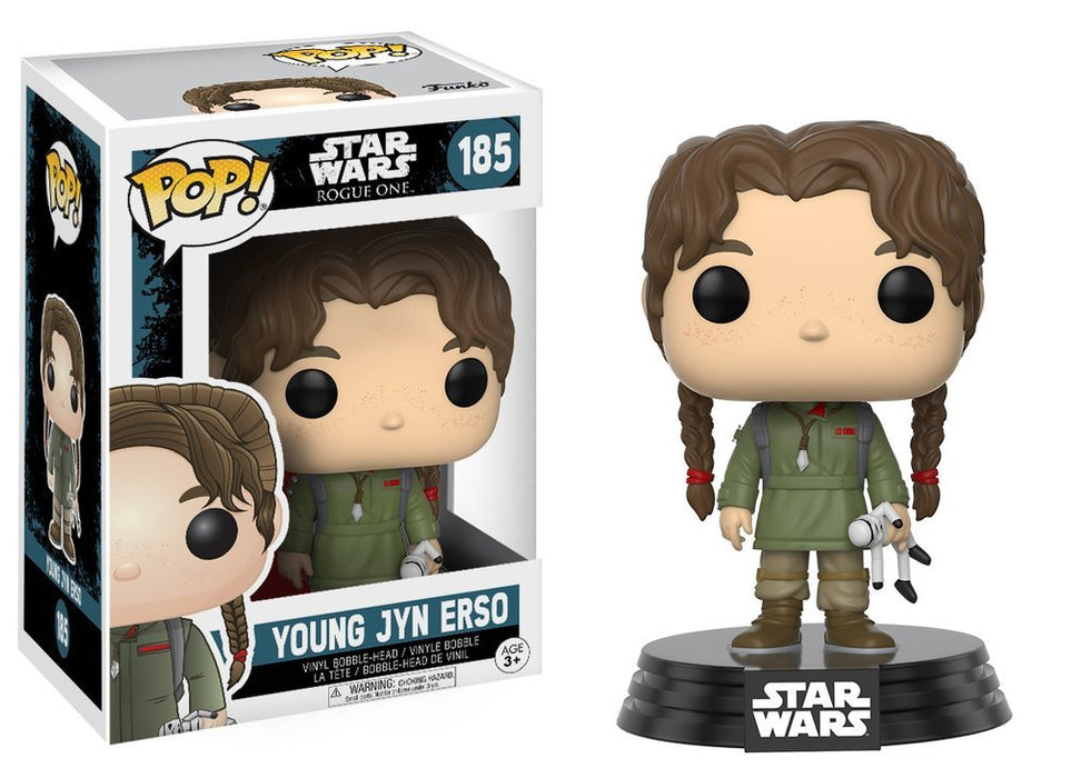 Funko PoP! Star Wars Rogue One Young Jyn Erso 185
