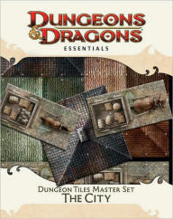 Dungeons & Dragons Essentials Dungeon Tiles Master Set The City