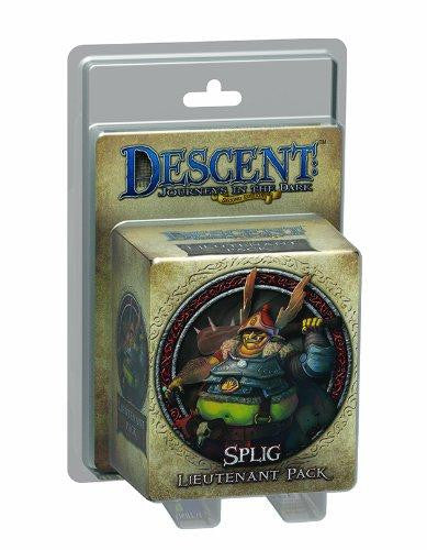 Descent Journeys In The Dark Second Edition Splig Lieutenant Pack