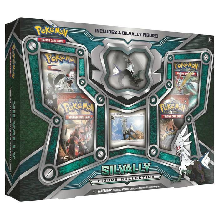 Pokemon TCG Silvally Figure Collection Box