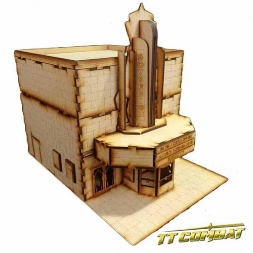 28mm Terrain: City Scenics - Sovereign Theatre