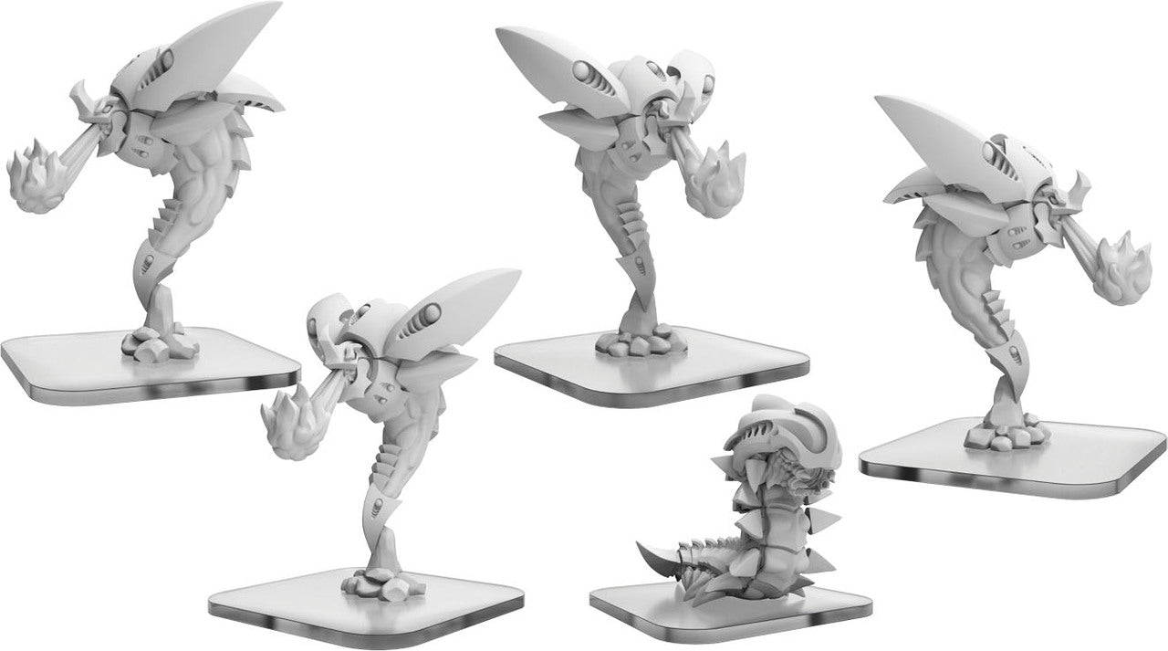Monsterpocalypse: Planet Eaters Scorchers & Exterminatrix Units (Resin and White Metal)