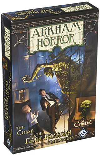 Arkham Horror: The Curse Of The Dark Pharaoh Expansion (Revised)