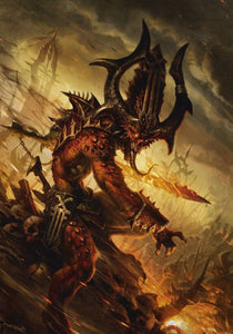 Warhammer 40K Art Sleeves Khorne Demons