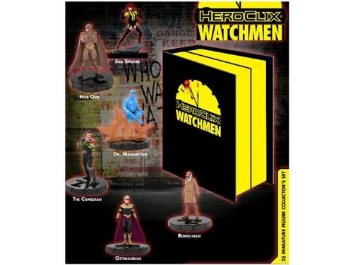 DC HeroClix Watchmen Collector's Box Set