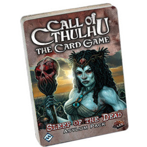 Call of Cthulhu LCG: Sleep of the Dead Asylum Pack